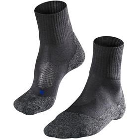 Falke TK2 Cool Korte Trekking Sokken Heren, asphalt melange